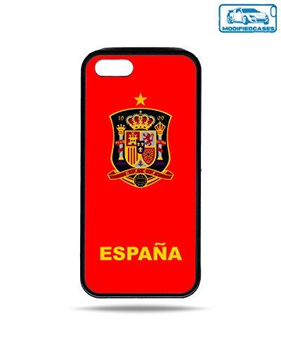 Fußball Teams Bumper Case iPhone 5/5S, Spain Emblem - Camo Emblem