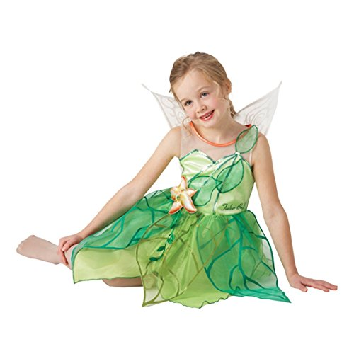 Kinder Feen Kostüm Märchen Feenkostüm Tinkerbell Fee Elfe Kinderkostüm S 3-4 Jahre