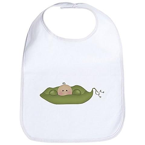 CafePress - Caucasian Single Baby Bib - Cute Cloth Baby Bib, Toddler Bib