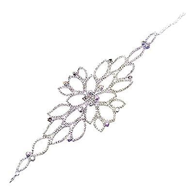 Contever® Damen Armbänder Armreif Bracelet Harness mit Ring für Charme Wedding Kleid Prom Party Zubehör