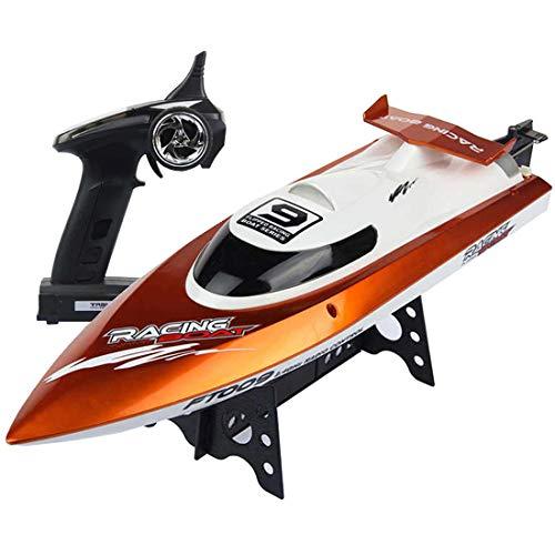 deAO RC Barco de Carreras Alta Velocidad 30Km/h Control Remoto Frecuencia...