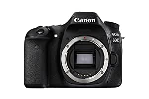 Canon EOS 80D Body Only Digital SLR Camera - Black