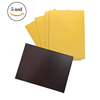 manutips Flexible Magnets for Photos and Crafts: 210–297mm A4. (Pack of 5)