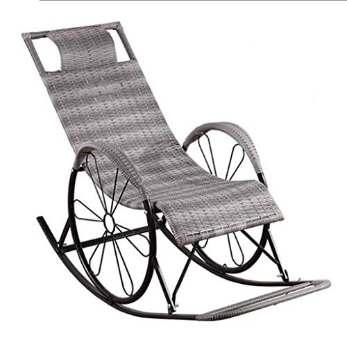 LTJLWB-chair Sencillo y cómodo. Silla De Mimbre, Mecedora, Silla De O