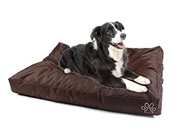 Speedy Pet Housse de coussin pour chien ou chat ou chat couverture pour tapis ou matelas pour animaux de compagnie avec 2 tailles et 6 styles DIY vous memes , le remplissage dépend de vous ?( Color : Brown Oxford , Size : XL 120*74cm )