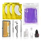 Leoboone JMTZ0008 Practicality False Eyelash Extension Grafting Tools Kits Eye Lashes Makeup Set For Practicing Eye Lashes Graft