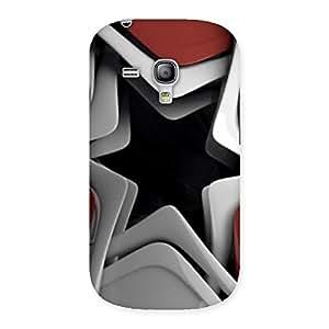 Premium Techisa Multicolor Back Case Cover for Galaxy S3 Mini