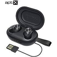 Tronsmart Spunky Beat Auriculares Inalámbricos Bluetooth 5.0, Soporte Aptx HD Calidad de Sonido, 24H Playtime, CVC 8.0 Cancelación de Ruido, Control Tactil y Micrófono Integrado, Carga Rapida y IPX5
