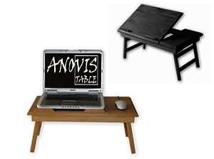 Table pour ordinateur portable VISTABLE 17 ! COULEUR WENGÉ !