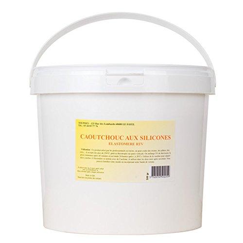moulagecomposite–RTV Elastomer-handgegossen weiß hohe 1kg (Rtv-gummi)
