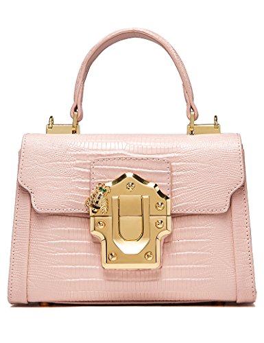 LA'FESTIN Designer Trendy Stilvolle College Rucksack Handtasche in Leder, Niedlich Cool Travel Fashion Rucksack Satchel Rucksack für Frauen, Damen, Mädchen und mehrLA'FESTIN Designer Fashion Schultert -