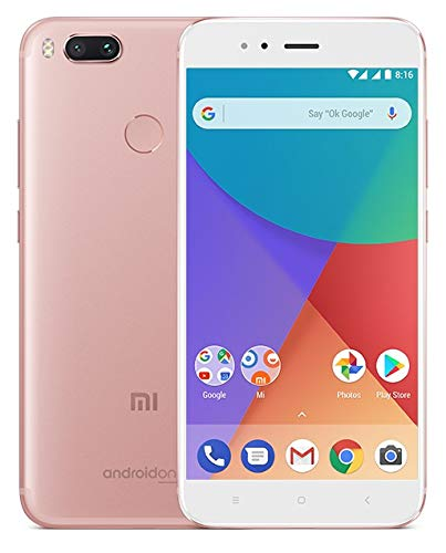 Xiaomi Mi A1 - Smartphone, Dual-SIM, 4G, 32GB, Rosa/Oro- [Versión europea]