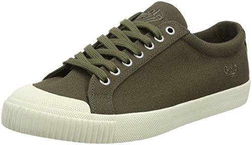 Gola Tiebreak Khaki off White Sneaker Uomo Verde khaki off White New