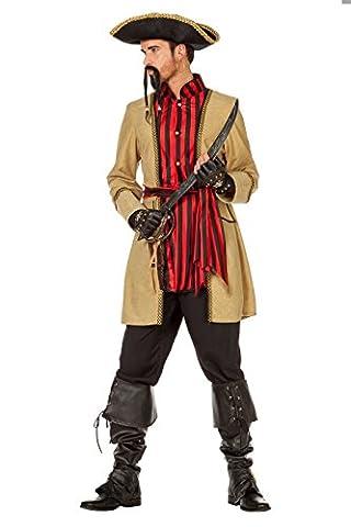 Wilbers 5077 Pirat Morgan Kostüm Herren 64