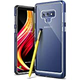 Caseology Skyfall Series Case Slim Clear Scratch Resistant Transparent Hard Case For Samsung Galaxy Note 9 (2018) - Ocean Blue