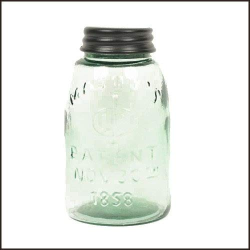 Colonial Dose Funktioniert Midget Pint Mason Glas mit Deckel