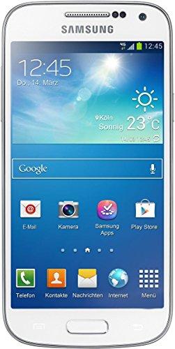Samsung Galaxy S4 Mini I9195 LTE Smartphone weiß (10,85 cm (4.27 Zoll) AMOLED-Touchscreen, Micro-Sim, 8 GB interner Speicher, 8 Megapixel Kamera, LTE, NFC, Android 4.2) (Zertifiziert und Generalüberholt)