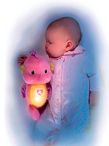 """Image of Fisher Price 900 R5534 """"Ocean Wonders"""" Soothe and Glow Seahorse Toy"""