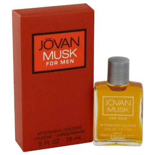 Jovan Musk for Men Aftershave Cologne .5fl. oz by Jovan