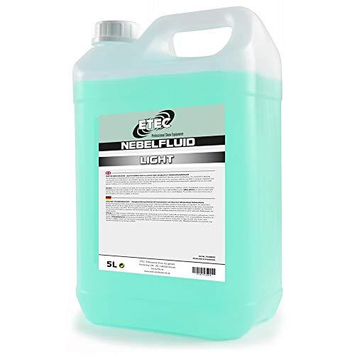 Flüssigkeit Nebelmaschine - ETEC Professional Nebelfluid 5 Liter Light