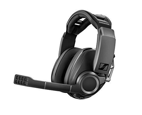 Sennheiser GSP 670 Wireless Gaming Headset, 7.1 Surround Sound, Noise-Cancelling Mikrofon, Latenzarme Verbindung und Bluetooth, Flip-to-Mute, Kabellose Kopfhörer für Windows PC, PS4 und Handy thumbnail