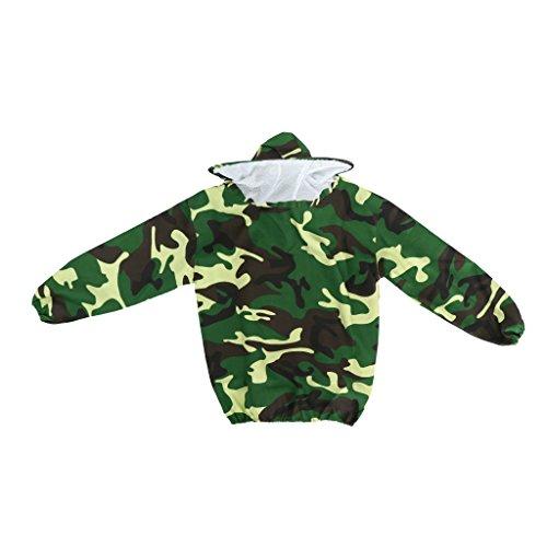 D DOLITY Blouse Costume Equipement de Protection Professionnel Anti Abeille pour Apiculture