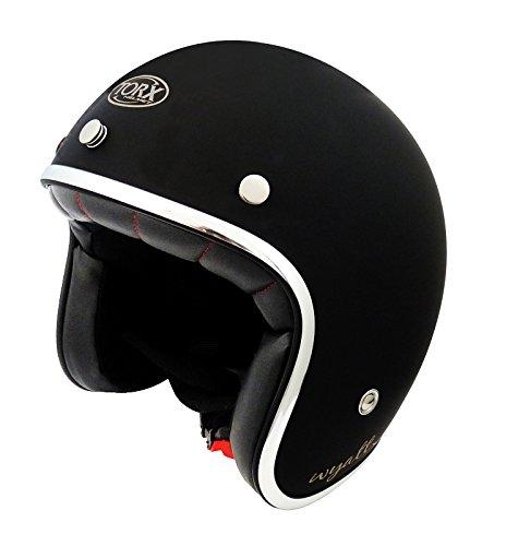 TORX Casco de Moto Wyatt Shiny negro,talla L