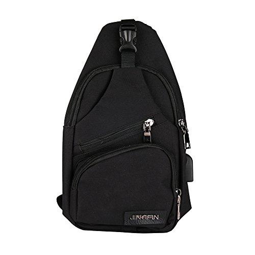 a79c84227f ginli marsupio di tela outdoor viaggio sacchetto borsa a tracolla uomo mare  escursioni sport hiking vintage