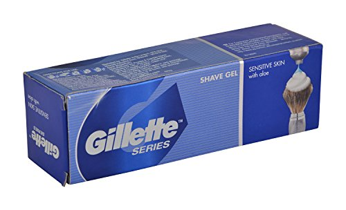 Gillette Shaving Gel - Sensitive Skin, 60g Pack