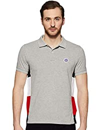 TOMMY HILFIGER Men's Solid Slim fit Polo
