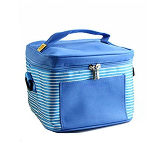 MOXIN Sacchetto di isolamento - Ghiaccio di ghiaccio più pesante Pack Fresh College esterno , red dates (ice packs) fresh blue (ice pack)