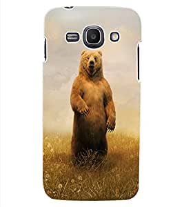 ColourCraft Cute Teddy Design Back Case Cover for SAMSUNG GALAXY ACE 3 3G S7270