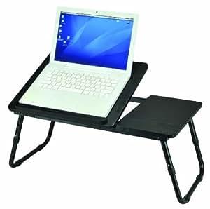Laptoptisch - klappbar - Maße ca. 60 x 34 x 25 cm in Schwarz