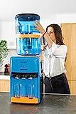 ECO-DE Aqua Tower Plus: Acqua purificata, fornisce Acqua Calda, Fredda o Temperatura Ambiente.