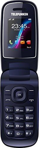 "Telefunken TM18.1 Classy - Móvil de teclas grandes (1.8"") color negro"