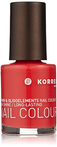 Korres Vernis à ongles couleur, corail, rose 11 ml