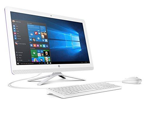 HP 22-b050ng (X0Y27EA) 54,6 cm (21,5 Zoll / FHD IPS) All in One Desktop PC (AMD Quad-Core A6-7310 APU, 4GB RAM, 1 TB HDD, AMD Radeon R4-Grafikkarte, Windows 10 Home 64) weiß - 2