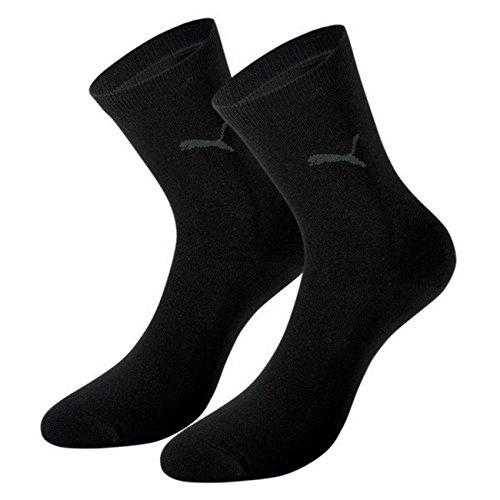 PUMA Damen Casual Socken Classic 6er Pack, Black, 35/38
