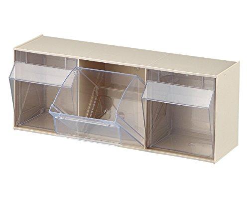 Preisvergleich Produktbild STALA 3 Klarsichtmagazin für 3xE a.PS weiß B.600xT.197xH.240mm weiß