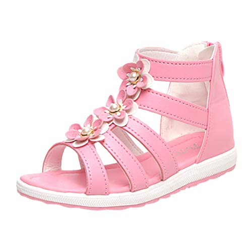(SUCES Baby Schuhe Prinzessin Sandalen Kleinkind Säuglingskinderbabyperlen Blumen einzelne Prinzessin Shoes Sandals Strandschuhe Krabbelschuhe Outdoor Shoes Badesandalette Badeschuhe)