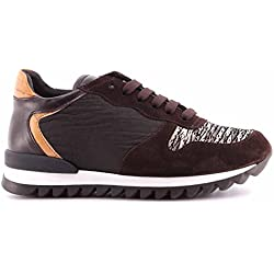 Scarpe Donna Sneakers ALVIERO MARTINI 1°Classe ZA4089419 Dark Brown Marrone ITA