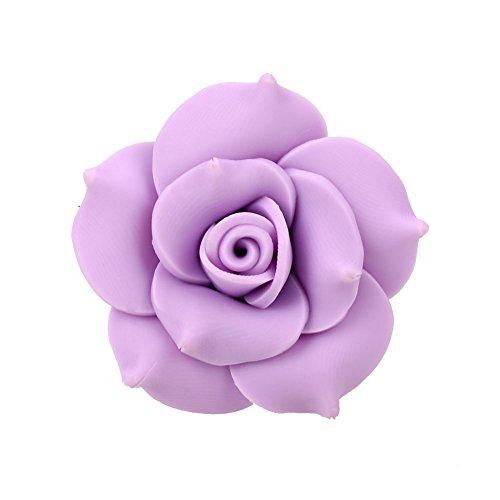 Preisvergleich Produktbild Sedeta® hellviolett Auto Soft Sottery Flower Lufterfrischer Duftender Parfüm-Clip-Diffusor für Urlaubsreisen