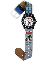 Scout Jungen-Armbanduhr Analog Quarz Kunstleder 280316008