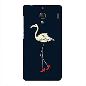 Back cover for Redmi 1S High Heel Swan