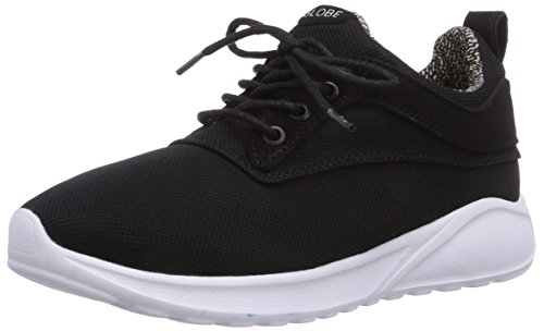 Globe Roam Lyte, Low-Top Sneaker mixte adulte Noir (10046 Black/White)