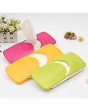 MOHAK Car Sun Visor Tissue Box Tissue Holder Car Accessories Decor Case