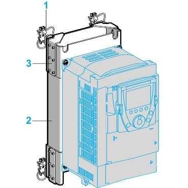 Preisvergleich Produktbild VW3A9623 - DNV-Kit, für Frequenzumrichter, ATV61/ATV71, 193x445x121mm
