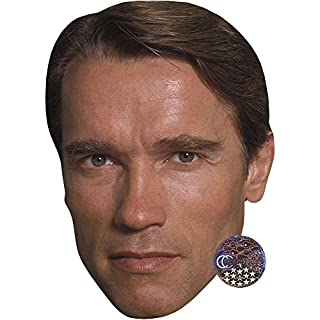 Arnold Schwarzenegger (Young) Celebrity Mask, Card Face and Fancy Dress Mask