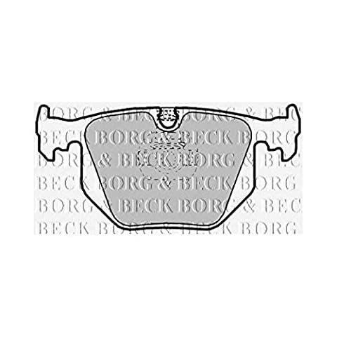 Borg & Beck BBP1844 Brake Pad Set