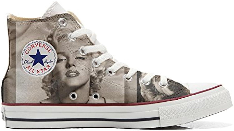 Converse Personalizzate Personalizzate Personalizzate all Star Hi Canvas, scarpe da ginnastica Unisex (Prodotto Artigianale) Marilyn Monroe | Scelta Internazionale  bf874f